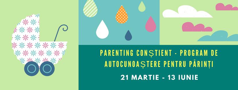 Parenting conștient program de autocunoaștere pentru părinți